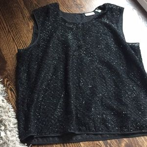 DKNY holiday top, gorgeous!